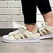 adidas 阿迪达斯 Superstar 80S系列 女款贝壳头板鞋